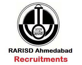 Regional Ayurveda Research Institute for Skin Disorders RARISD Recruitment for SRF Post 2020