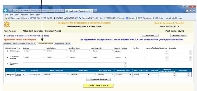 Gujarat State Fertilizers Chemicals Limited Recruitment 2020
